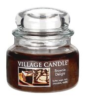 Village Candle 3 Sizes Premium Jar Brownie Delight Dual Wick Scented Candles