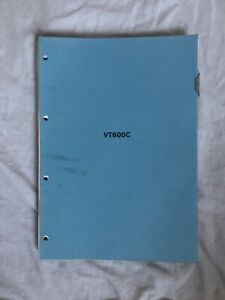 HONDA VT600C GENUINE FACTORY WORKSHOP MANUAL