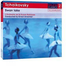 2 CD BOX TCHAIKOVSKY SWAN LAKE BALLET ERNST ANSERMET L'ORCHESTRE DE LA SUISSE
