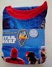New Boys Star Wars 2 pc Flannel Pajamas Sleepwear Set Size 14/16 14 16 Chewbacca