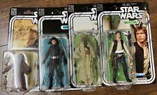 Star Wars 40th Anniversary Black Series of 4