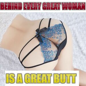 Women Open Butt Crotchless Backless Sexy Panties Mesh G-string Thongs Underwear