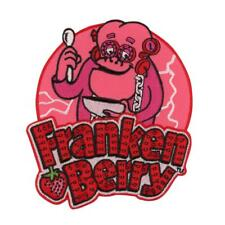 Monster Cereals Franken Berry Patch Retro Vintage Iron on Embroidered Patch