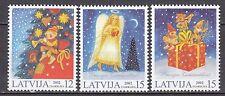LATVIA 2002 **MNH  SC#  561 - 563  Christmas stamps