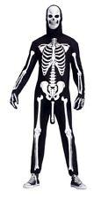Adult SKELEBONER Rude Skeleton Fancy Dress Costume Halloween Outfit + Mask