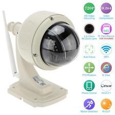 720P 2.8-12mm Auto-focus PTZ Wireless WiFi Outdoor IP CCTV Camera H.264 IR-CUT