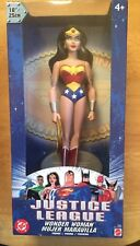 """MIB! 2003 DC  JUSTICE LEAGUE WONDER WOMAN 10"""" ACTION FIGURE"""