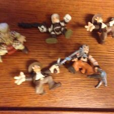 Adventure Heroes Figures Lot of 5 Indiana Jones figures