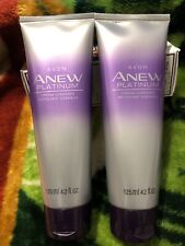 Avon Anew Platinum Cream Cleanser Lot of 2 Sealed NEW