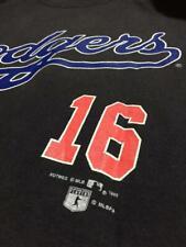 VINTAGE 90's LOS ANGELES DODGERS MLB HIDEO NOMO #16 SWEATSHIRT NUTMEG HIP HOP