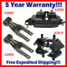 L108 Fit 06-08 Pontiac Grand Prix 3.8L w/o Turbo Motor & Trans Mount Set 4PCS