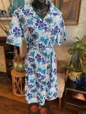 Unworn Vintage Floral Shirt Waister Dress