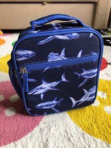 Pottery Barn Kids - MacKenzie Lunch Box - Sharks Design - NEW