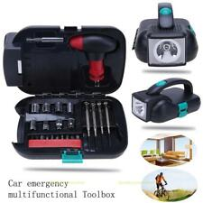 Portable Home Car Emergency Repairing Tool Combination Kit with LED Flashlight