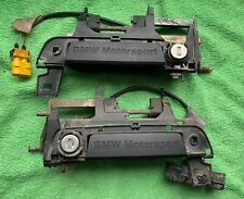 BMW E36 M3 Door Handles Pair BMW Motorsport Türgriffe Front doors 1991 1992 1993