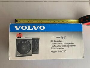 VOLVO 740 760 HT-165 DOOR PANEL LOUDSPEAKERS KIT 25W SPEAKERS 1362244