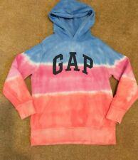 GAP Girls Tie Dye Hooded Top Hoodie Age 10-11 Years