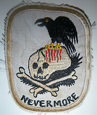 THE RAVEN - Patch - NEVERMORE - USAF 56th SPECIAL OPERATIONS, Vietnam War - 8653