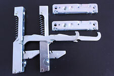 SMEG OVEN DOOR HINGE KIT 2 HINGES & 2 SUPPORTS 691330361 ORIGINAL SA388X, SA395