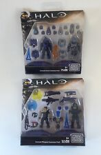 LOT OF 2 Mega Bloks HALO Weapons Amour Customizer Pack Building Toy NEW UNOPENED