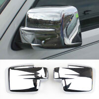 For Jeep Patriot 2Pcs Chrome Car Rear view Mirror Trim Covers
