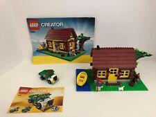 LEGO CREATOR Sets 5766 LOG CABIN & 5865 Dump Truck
