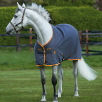 Horseware Amigo Stable Sheet 0g - Excal & Orange - Stalldecke