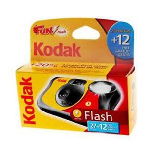 KODAK FUN FLASH 39exp SINGLE USE DISPOSABLE CAMERA - Dated 05/23