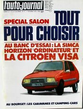 L'Auto-journal n°17-1978-CITROEN VISA-SIMCA HORIZON-AUDI 80-ROVER 2600-VOLVO