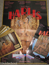 Harlis -13 photos + Small POSTER + Cinema Poster a1-Red Hot In Bed Rolf Zacher Sexy
