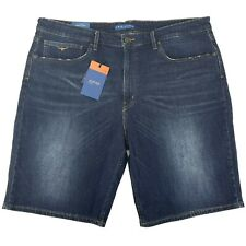 RM Williams Mens Nicholson Denim Shorts Regular Fit Low Rise Size 42