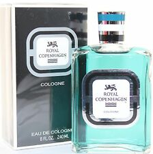 ROYAL COPENHAGEN MUSK 8.0 OZ EDC SPLASH COLOGNE FOR MEN NEW IN BOX