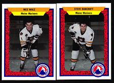 1991/92 ProCards AHL Maine Mariners Team Set