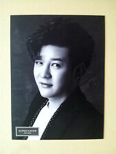 Super Junior Official Goods Photo Card  Postcard Size (Big) - Shindong / New