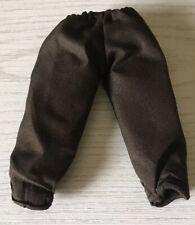 "1/6 12"" Inch Jedi Knight Dark Brown Pants Star Wars Action Figure Clothes"