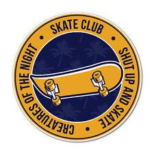 Skate Club Circle Sticker Decal Surfboard Vintage Skate Surf #7314HP