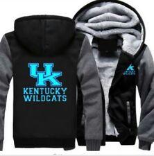 New Kentucky Wildcats Hoodie warm Jacket Thicken Coat Luminous Sweatshirt S-5XL