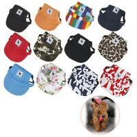 Pet Dog's Hat Baseball Cap Windproof Travel Sports Sun Hats for Puppy Large Hats