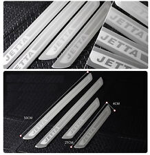 Stainless Door Sill Scuff Plate Guard Trim For For VW JETTA 4 5 6 MK4 MK5 MK6