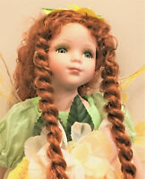 Fairy Porcelain Doll -Limited Edition Collectible Porcelain Dolls -Gifts-New