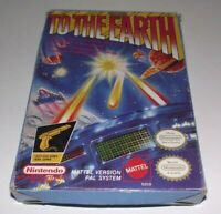 To The Earth Nintendo NES Boxed PAL Complete #2