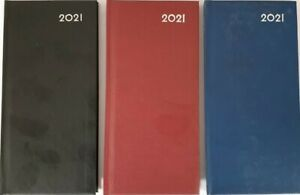 2021 Slim Week to View Classic Appointment Desk Diary Hard Back Limited offer !!