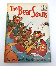 The Bear Scouts Berenstain Bears VINTAGE 1967 Dr. Seuss book club camping boy