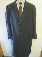 Saks Fifth Av Georgio Armani Collezioni Wool Trenchcoat Coat XL 46 R Euro 56 R
