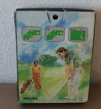 Philips Video pac jeu Golf 10 complet