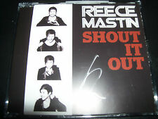 Reece Mastin Shout It Out Australian CD Single – Like New