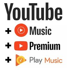 Youtube Premium Youtube Music 1 month to 24 Months UPGRADE OWN ACCOUNT FAST EASY
