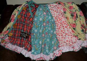 Matilda Jane Christmas Tree Skirt Memento Various Patterns Floral Christmas NWOT