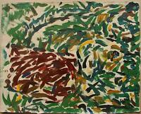 Russian Ukrainian Soviet Oil Painting Nonconformist abstract art non-figurative