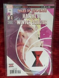Tales of Suspense Hawkeye and Winter Soldier #101 Marvel Comics